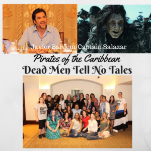 Interview with Javier Bardem Captain Salazar in Pirates of the Caribbean: Dead Men Tell No Tales #PiratesLifeEvent #PiratesoftheCaribbean