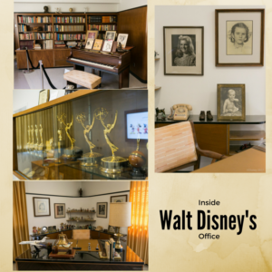 A Look Inside the Office of Walt Disney in Photos #PiratesLifeEvent #BambiBluRay