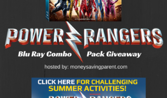 Free Printable Activities and Saban's Power Rangers Blu-Ray Combo Pack Giveaway #PowerRangersMovie