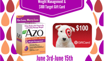Start the summer off with one great giveaway! $100 Target Gift Card from AZO
