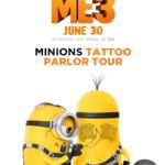 The DESPICABLE ME 3 travelling Tattoo Parlor comes to Houston and a city near you #DespicableMe3