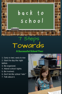 7 Steps Towards Creating a Successful School Year