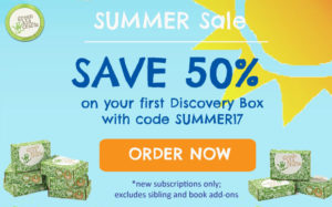 Avoiding the Summer Slide! Try Green Kid Crafts for Free or Subscribe for 50% off