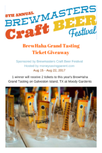 The Brewmasters Craft Beer Festival BrewHaHa Ticket Giveaway #BrewmastersBeerFest