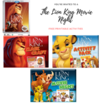 Plan Your Family Movie Night Featuring Fun Free The Lion King Printables! Now Available on DVD, BluRay and Digital #TheLionKing