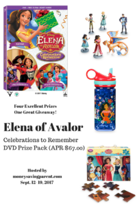 An Excellent Elena of Avalor:  Celebrations to Remember Prize Pack Giveaway