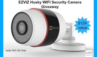 EZVIZ Husky WiFi Security Camera Giveaway