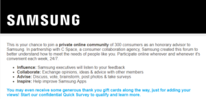 Share Your Opinions and Get Rewarded When You Join the Samsung Rewards Advisors Community