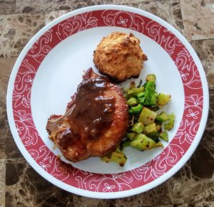 Sweet and Savory Cola Glazed Pork Chop