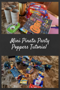 Mini Pinata Party Poppers Just in Time for Halloween