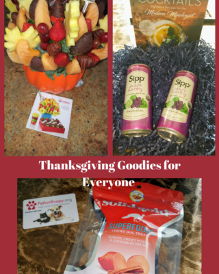 Something Special for  Friends, Family and Furry Friends this Thanksgiving #ThanksgivingBBxx
