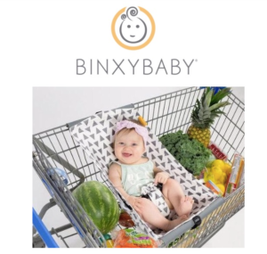 BinxyBaby: The Stylish Shopping Cart Hammock