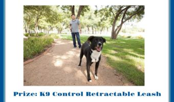 K9 Control Retractable Leash Giveaway