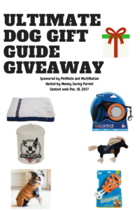 The Ultimate Dog Gift Guide and Giveaway: Six Prizes for Your Precious Pet