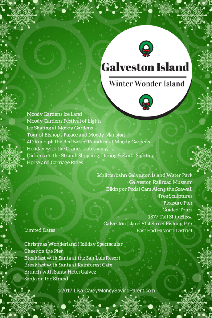 galveston island holiday guide