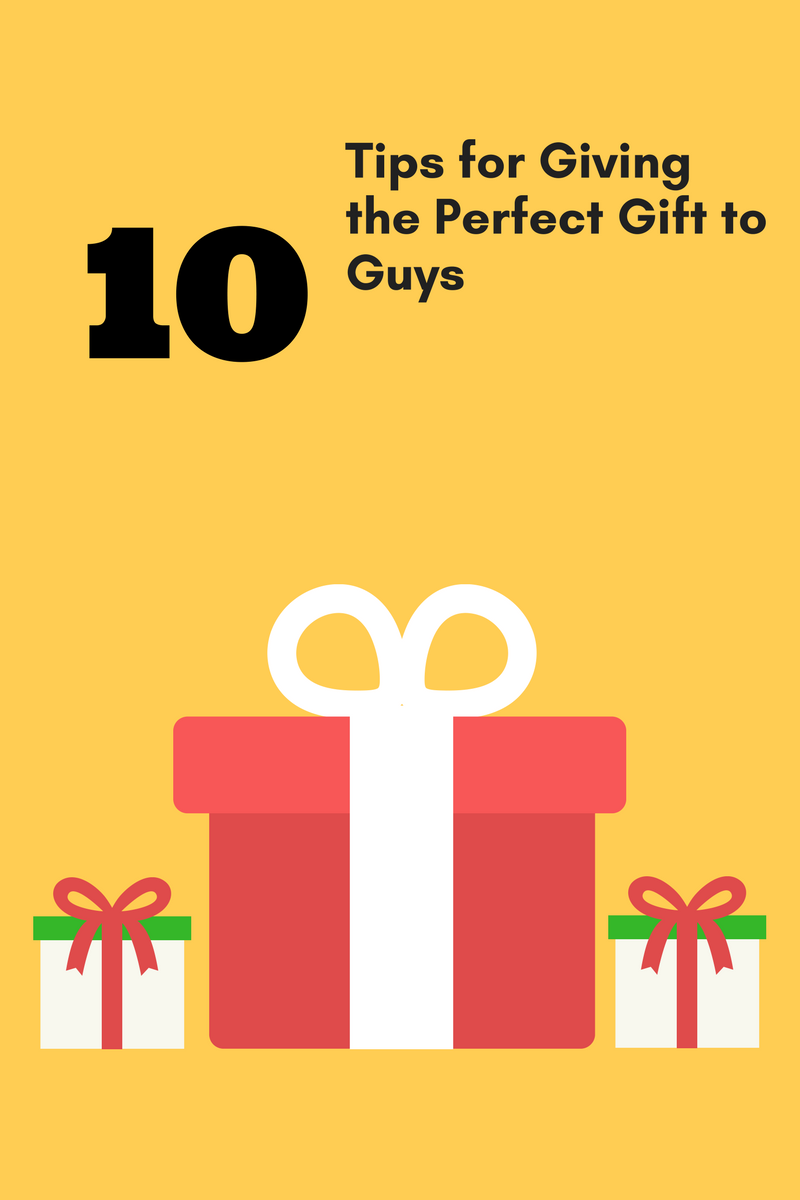 gift giving guide for guys