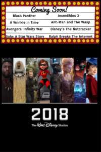 New Year New Movies! Amazing Array of 2018 Movies from Walt Disney Studios