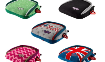 Making Travel Time Fun and Easier with the BubbleBum Inflatable Booster Seat