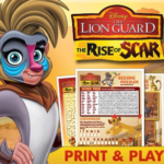Free Print and Play Activities: Disney's The Lion Guard: The Rise of Scar
