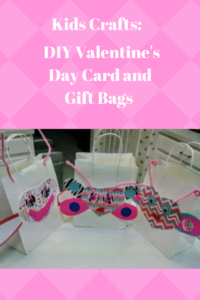 Kids Crafts: DIY Valentine's Day Card and Gift Bags