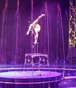 Our Aquatic Spectacular Saturday in Austin Begins with Cirque Italia #CirqueItalia