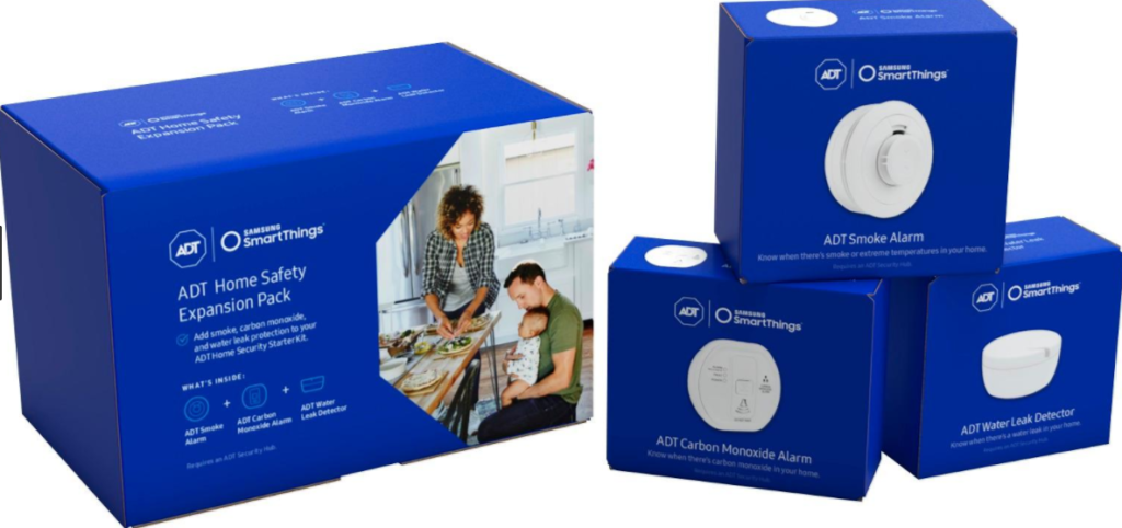 Samsung - SmartThings ADT Home Safety Expansion Kit