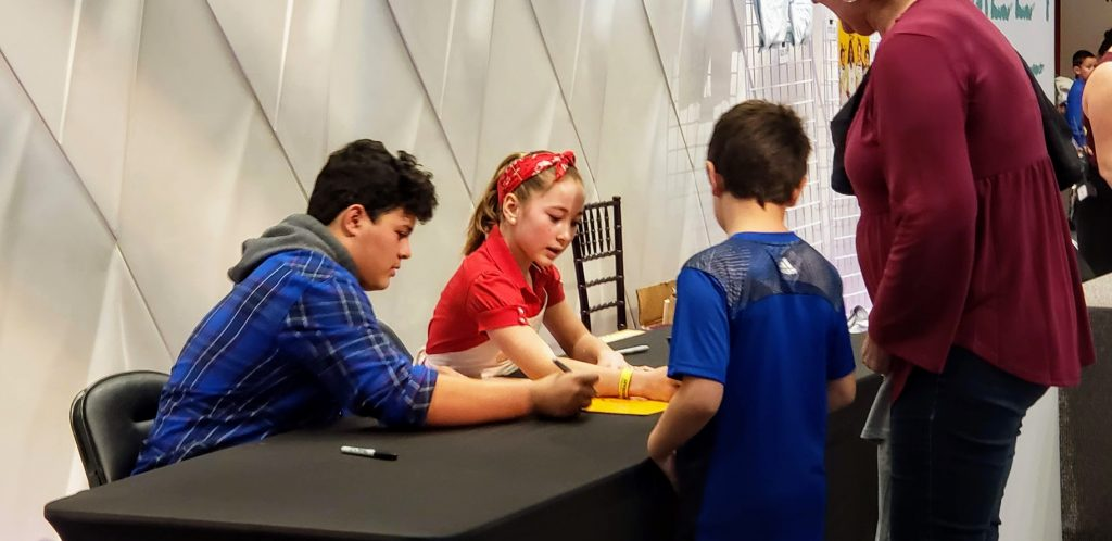 masterchef junior live autographs
